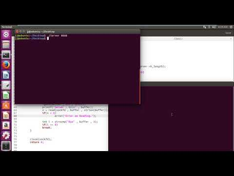Code The Client - Running Our Chat Application | Socket Programming | Tutorial No 6