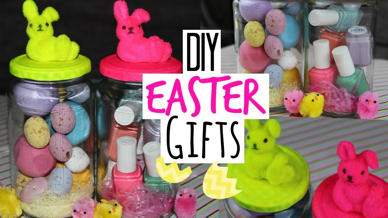 Diy easter gifts quick and easy youtube negle Choice Image