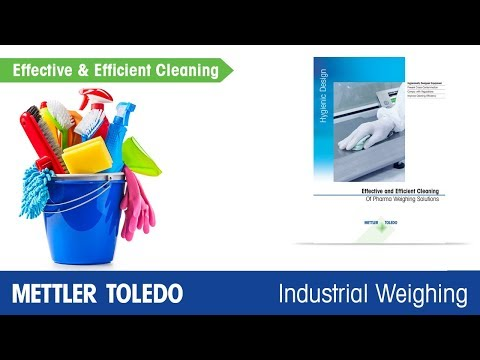 Tools For Efficient Cleaning - METTLER TOLEDO Industrial - En