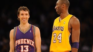 Kobe Bryant vs Steve Nash LEGENDS Duel 2011.03.22 - SICK 62 Pts, 29 Assists, CRAZY 3 OT Game!