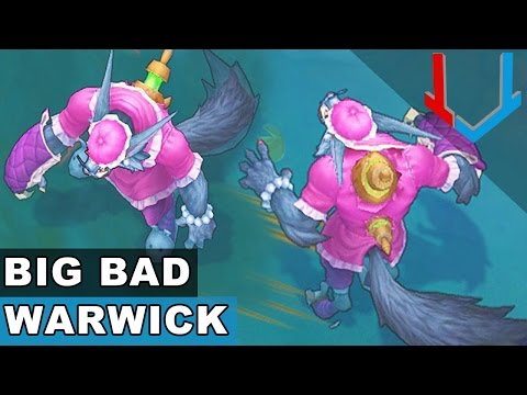 Big Bad Warwick - Champion Rework 2017 (League of Legends)