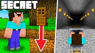 Top 10 SECRET Bases in Minecraft Noob1234 Will Never Find! (Preston Minecraft)
