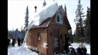 Alaska method roof shoveling