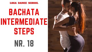 Learn Bachata Dance: Intermediate Steps #18 at Loga Dance School