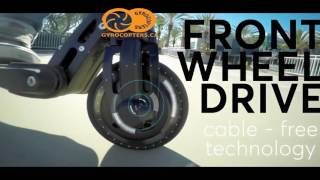 carbon fiber electric scooter