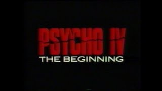 Psycho IV: The Beginning (1990) - Trailer