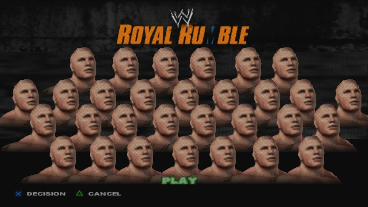 Unlimited Brock Lesnar In Royal Rumble Match - WWE SmackDown! Here Comes The Pain