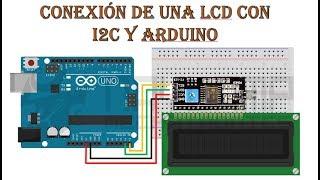 Pantalla LCD por I2C con arduino uno/mega/nano (tutorial). Muy fácil !!
