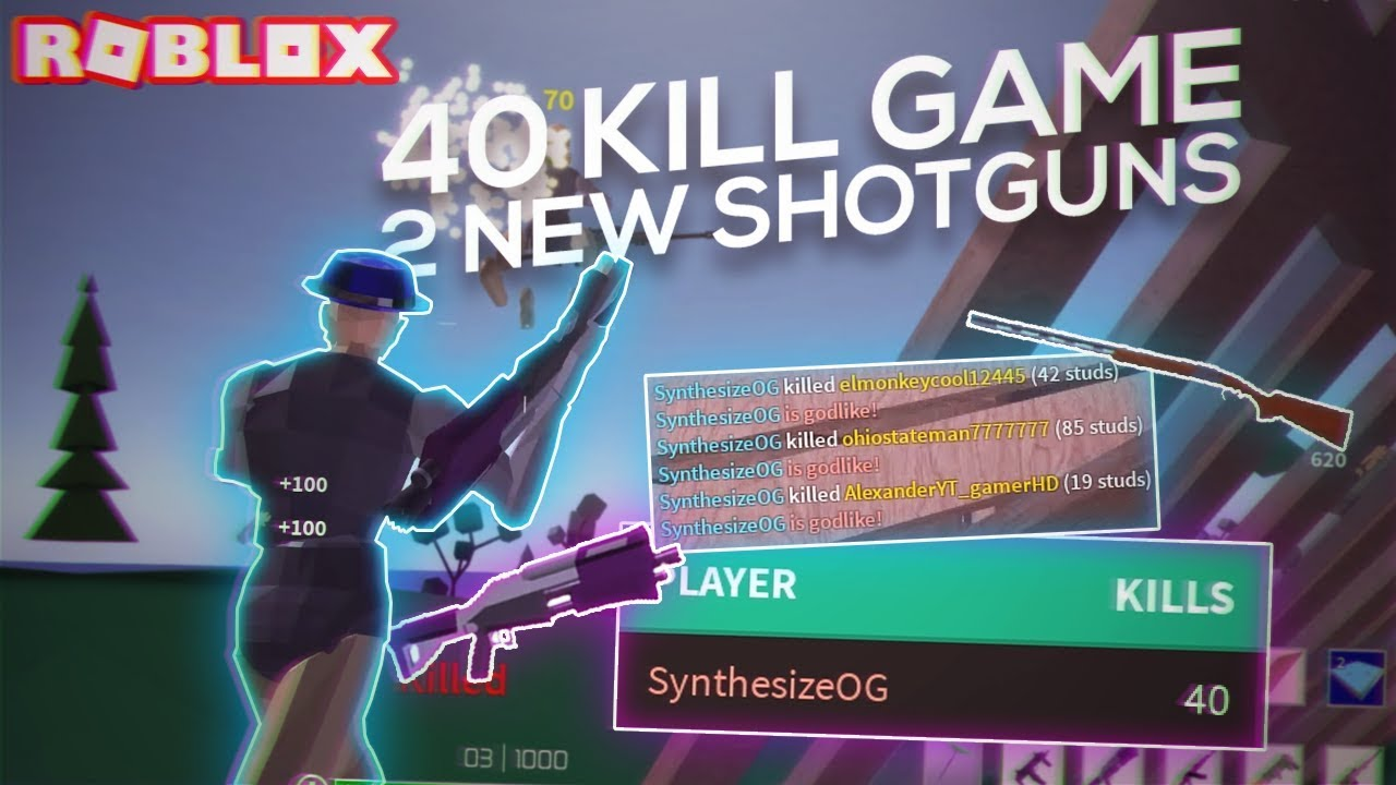 I ACTUALLY GOT A 40 KILL GAME with the NEW SHOTGUNS in ...