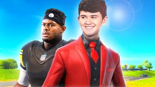 I Drafted JuJu Smith-Schuster In The Fortnite Twitch Streamer Bowl | Bugha
