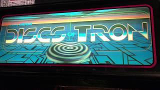 Disney Discs of Tron Video Game (1983)