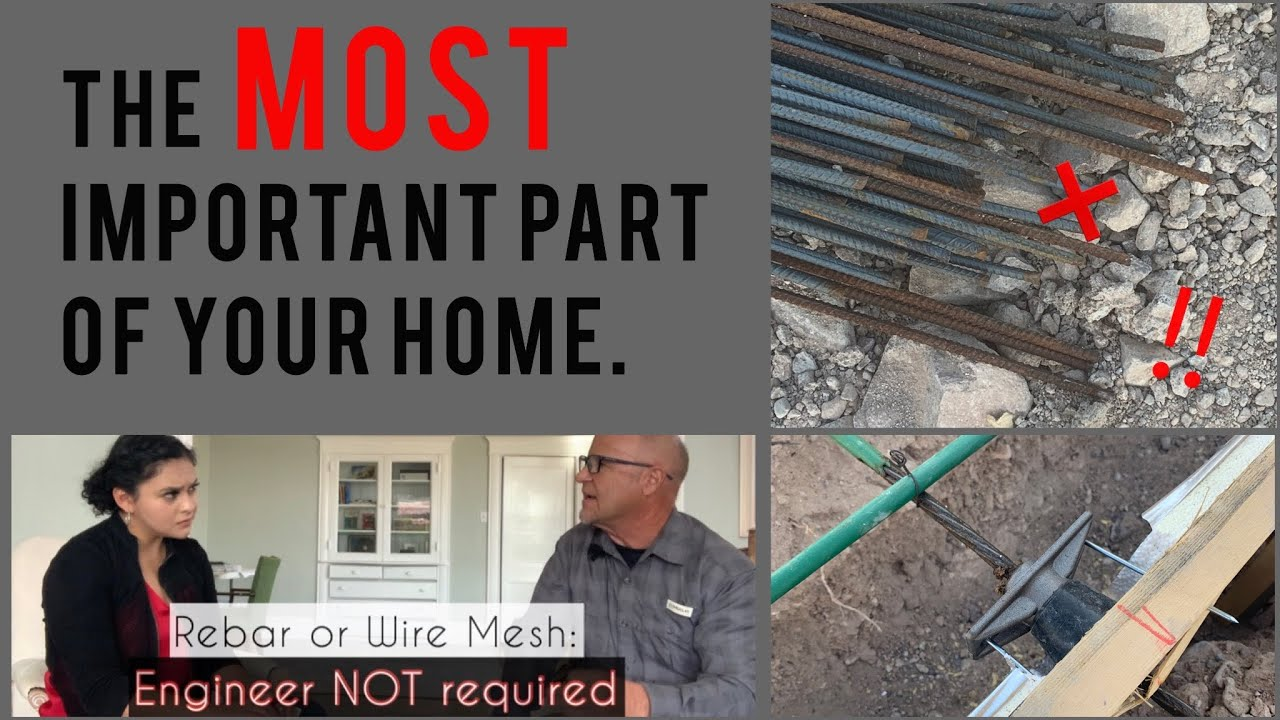 FOUNDATION 101: Post Tension vs. Rebar   Crown Heritage Homes