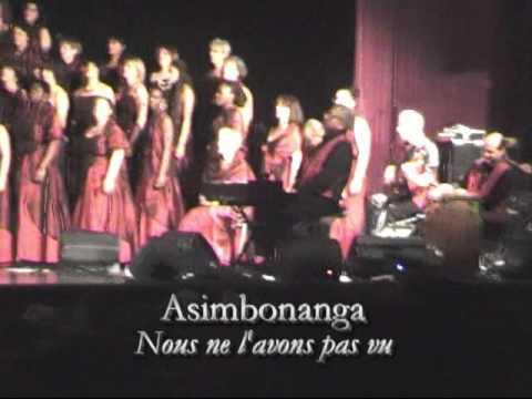 Noel 2015 - Asimbonanga (parole et traduction ) par GGS et ces musiciens