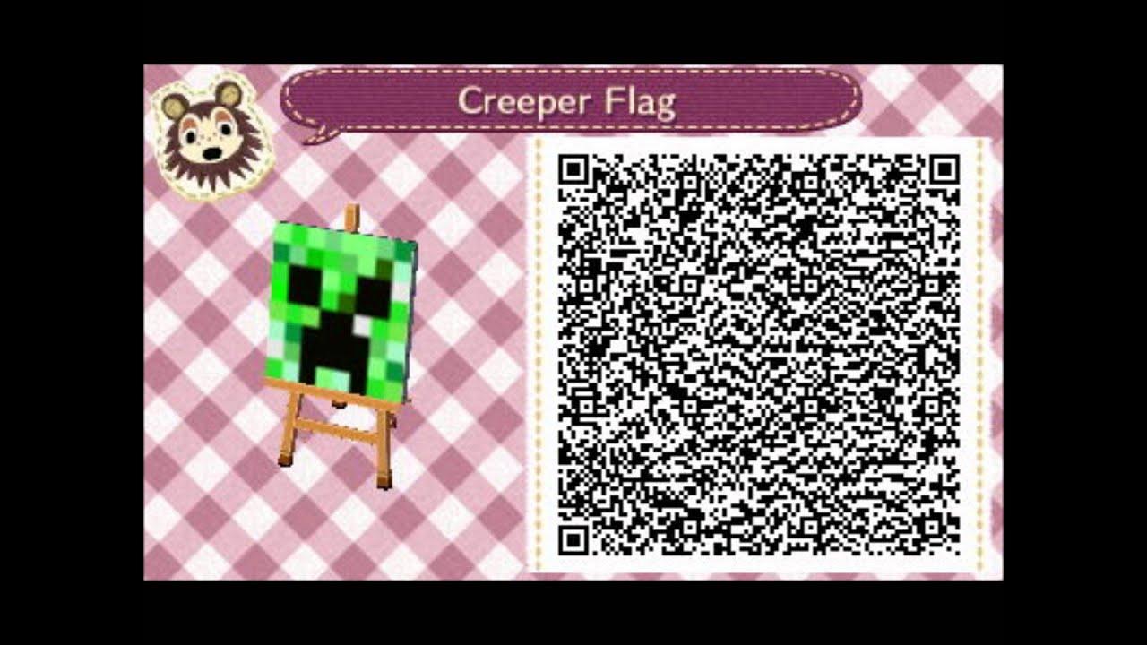Animal Crossing New Leaf Design Qr Codes Volume 1 Youtube