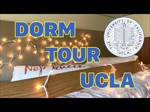 COLLEGE DORM TOUR UCLA!!!!!