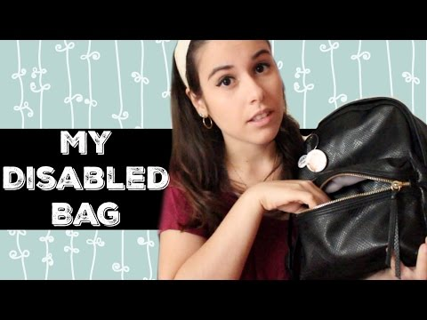 Whats In My Disabled Bag  #SpinaBifida
