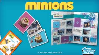 Álbum Minions Big-Bang Entertainment