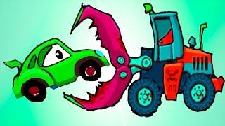 Машина Ест Машину - Хищные Машины - ИГРА как мультик Для детей - 2 часть - Серия 3#(Flavios - это игровой канал для детей, здесь вы можете смотреть самые крутые и новые игры мультики для детей,..., 2016-07-01T05:44:12.000Z)
