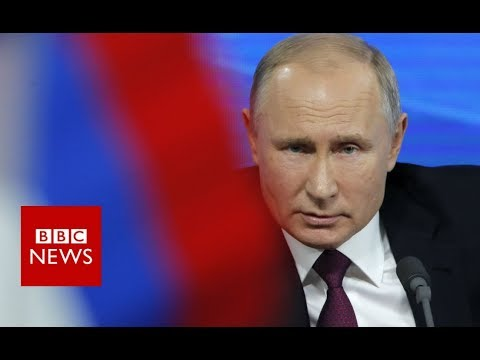 Putin: the presence of US troops in Syria is illegitimate - BBC News