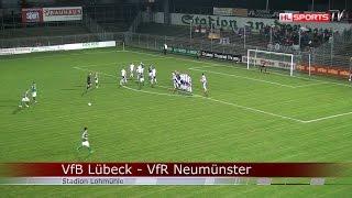 VfB Lübeck - VfR Neumünster | 07.11.2014 | Regionalliga Nord