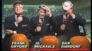 "ABC Sports ""Monday Night Football"" All My Rowdy Friends Promo - 1989"
