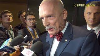 Janusz Korwin-Mikke po debacie liderów 2015 (część 2 z 2)