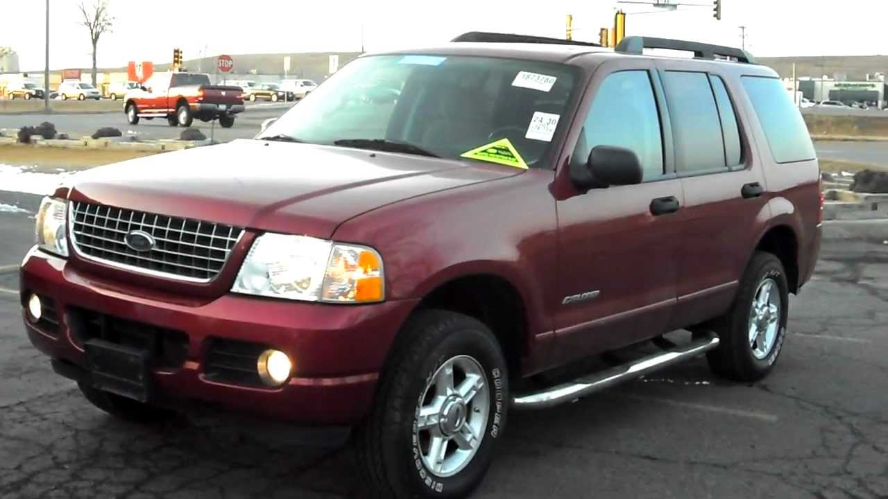 7 Passenger Suv >> 2005 Ford Explorer XLT, 4 door SUV, 4x4, 4.0 V6, 7 Passenger 3rd row, CLEAN!!! - YouTube