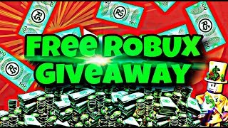 🔴 FREE ROBUX GIVEAWAY 🔴 + PROFILE PIC ART GIVEAWAY ON ROBLOX