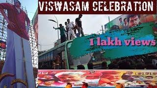 Viswasam Celebration Fan's Crowd | MARANA MASS | Musically | Bangalore Central....