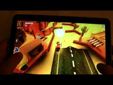 Android Games Guerrilla BOB THD on Galaxy Tab 10.1v Test