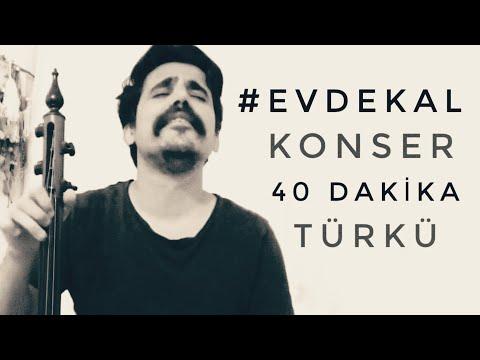 Uğur Önür Evde Kal Konseri 40 dk Türkü
