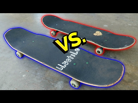 SHAPED SKATEBOARDS vs NORMAL SKATEBOARDS