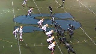 2013 SALESIAN VARSITY FOOTBALL vs. WHITTIER CHRISTIAN, Game Highlights