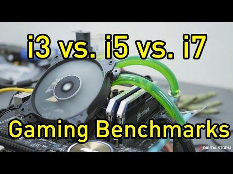 Intel Core i3 vs i5 vs i7 Gaming Benchmarks