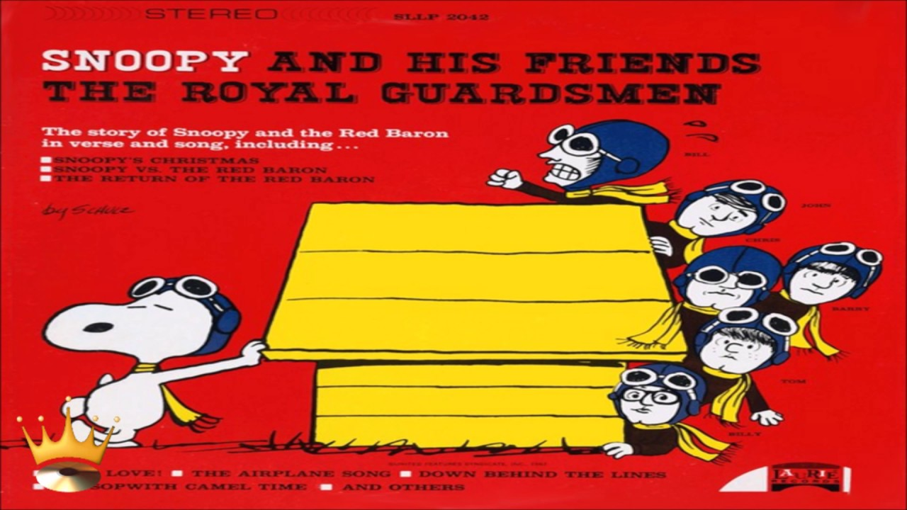 The Royal Guardsmen - The Story Of Snoopy's Christmas - YouTube