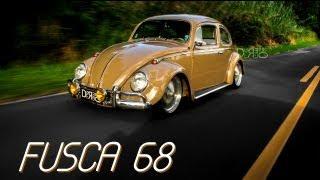 VW Fusca 68 - Estilo e Originalidade.