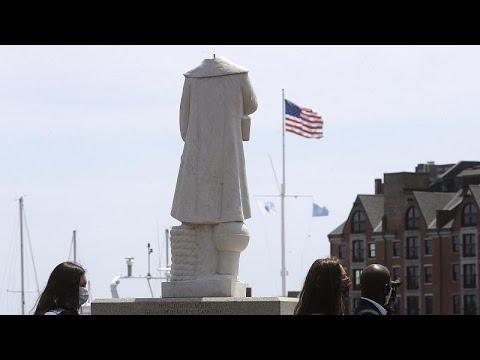ABD ve Avrupa sömürgecilik geçmişini sorguluyor: Heykelleri kaldırmak çözüm mü?