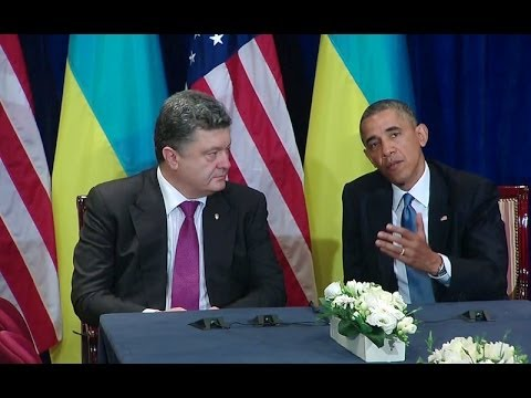 President Obama Meets with President-elect Poroshenko