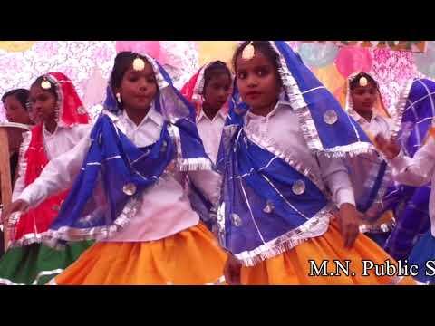 Haryanvi Group Folk Dance By M.N Public School Gharaunda