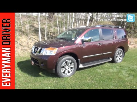 Here's the 2015 Nissan Armada AWD First Look on Everyman Driver