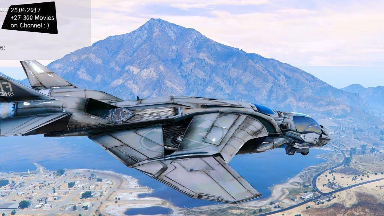 Avengers QuinJet New ENB Top Speed Test GTA Mod Future ...  Avengers QuinJe...