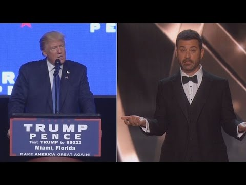 Emmy Winners and Jimmy Kimmel Criticize Donald Trump During Awards Show