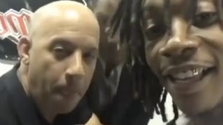 "Wiz Khalifa ""Gets Vin Diesel So High He Can Barely Talk"""