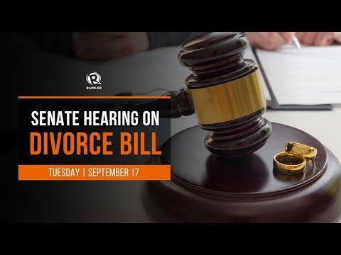 Senate Hearing On The Divorce Bill, 17 September 2019