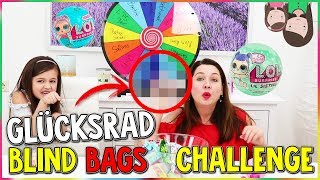 GLÜCKSRAD Challenge SPIELZEUG BLIND BAGS 😍 Mystery Wheel of Blind Bags | Alles Ava