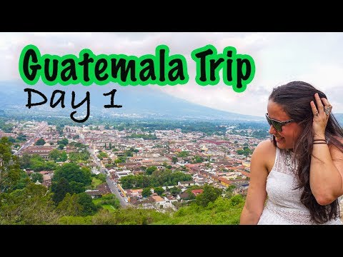 Antigua and Cooking Class in Guatemala | Day 1 |Tiny Globetrotter