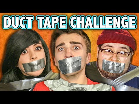 DUCT TAPE CHALLENGE! (ft. React Cast)   Challenge Chalice