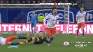 Hamburger SV 3  #8211; 0 Borussia Dortmund   FootyRoom   Latest Football Highlights