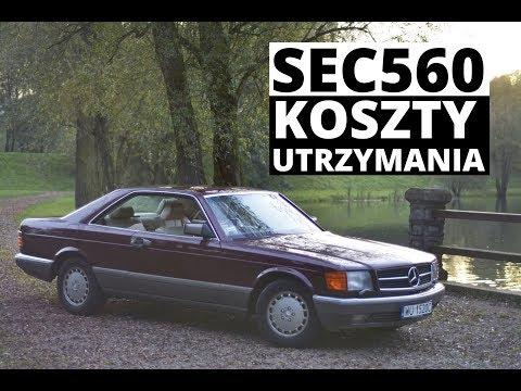 Ile kosztuje utrzymanie Mercedesa 560SEC Zachar OFF
