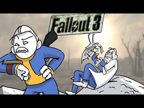 ВЕСЬ Fallout 3 ЗА 15 МИНУТ ЧАСТЬ 1